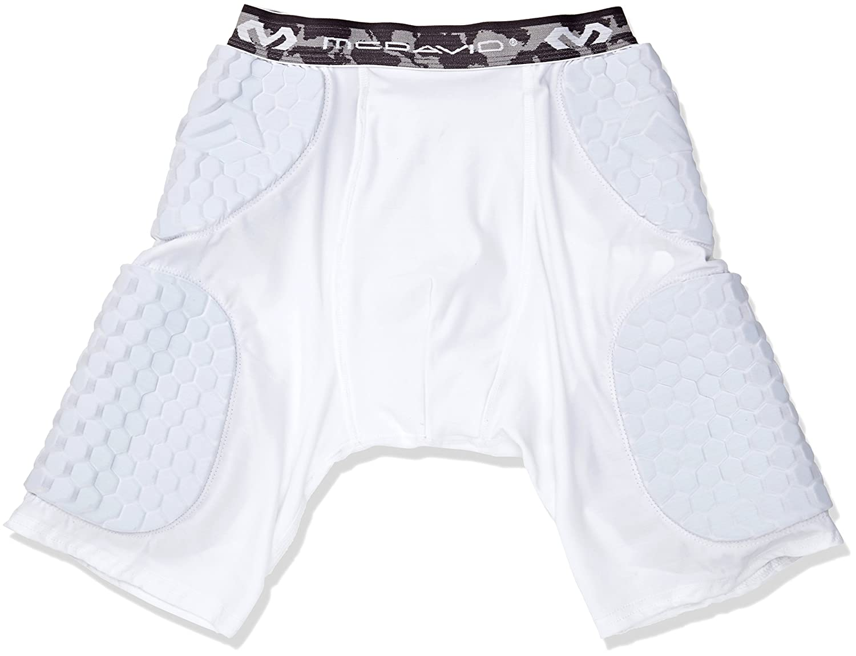 McDavid 7991 Hex Short with Contoured Wrap Around Thigh B00JANF3K0 Small|ホワイト ホワイト Small