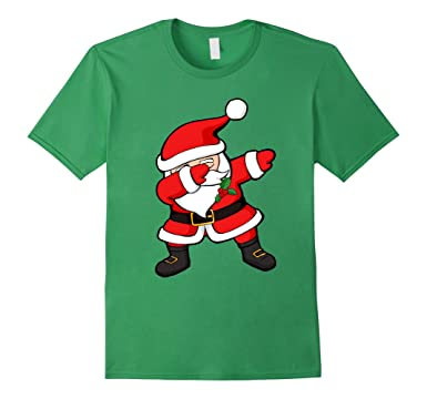 Amazon.com: Dabbing Santa Claus Christmas Dab Novelty Shirt: Clothing