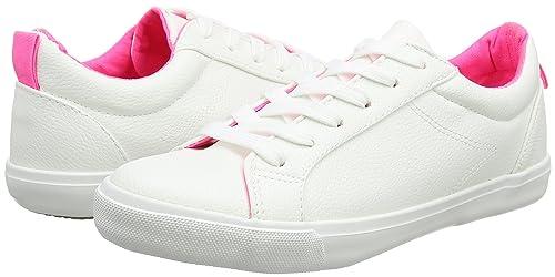 Moxie - A Collo Basso Donna, Bianco (White (White)), 35.5 New Look