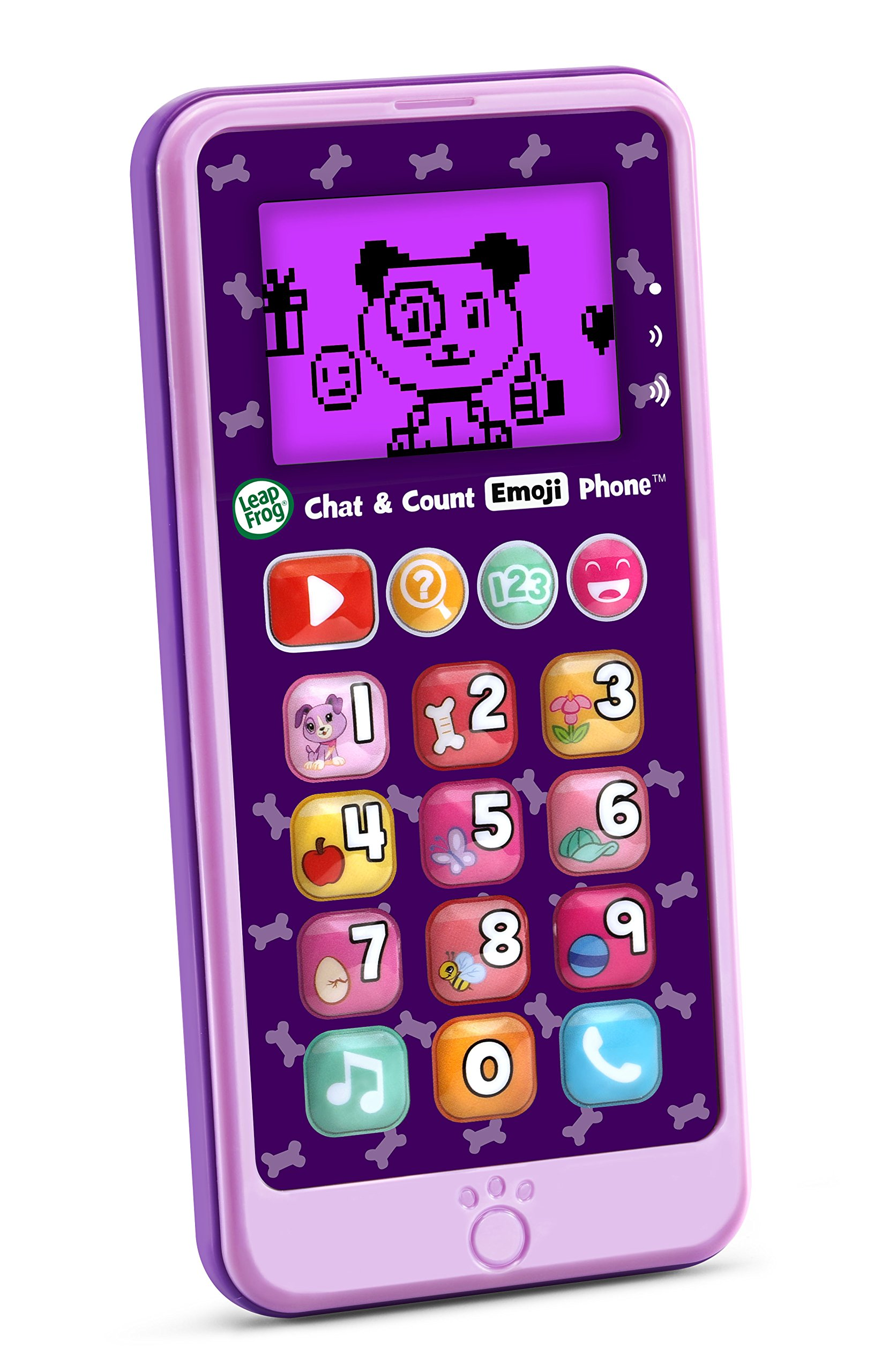 LeapFrog Chat and Count Emoji Phone, Purple by LeapFrog (Image #3)