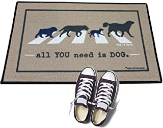 product image for HIGH COTTON Welcome Doormat -All You Need is Dog.