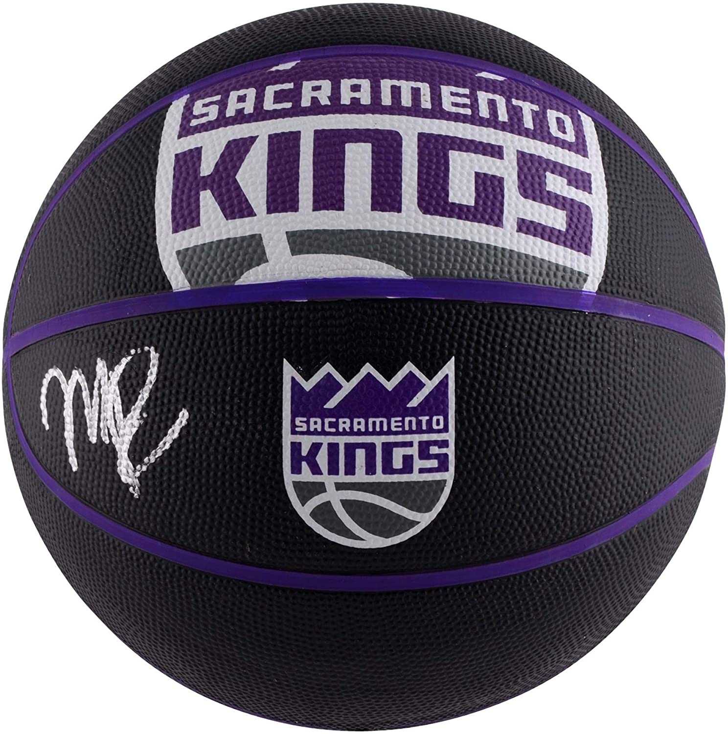 Marvin Bagley III Sacramento Kings Autographed Spalding Courtside Basketball - Fanatics Authentic Certified