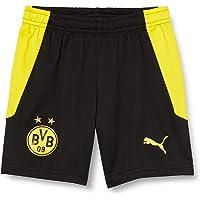 PUMA BVB Shorts Replica Jr - Pantalones Cortos Unisex niños