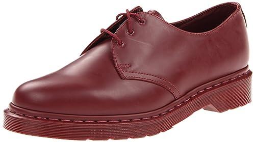 Dr. Martens 1461 - Zapatos con Cordones para Hombre, color Cherry Red, talla 44