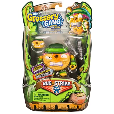 Grossery Gang The S4 Bug Strike Action Figures - Dodgey Donut: Toys & Games