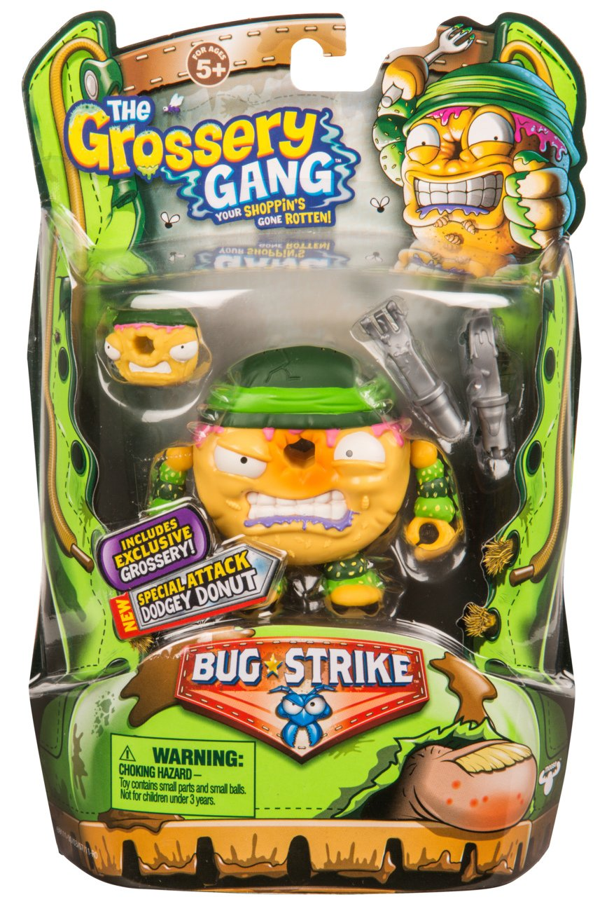 Grot Dog Grossery Gang The S4 Bug Strike Action Figure