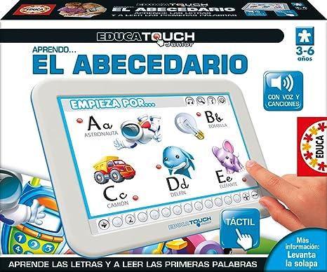Amazon.es: Educa- EducaTouch Junior Aprendo El Abecedario