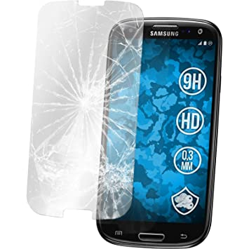 2 x Samsung Galaxy S3 Neo Protection Film Tempered Glass clear - PhoneNatic Screen Protectors