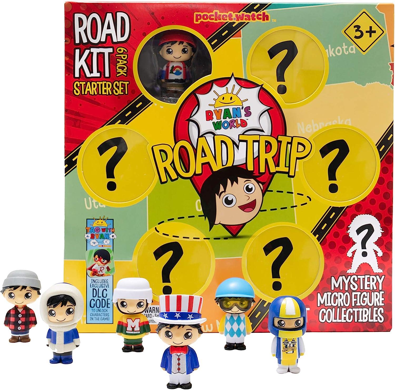 RYAN'S WORLD Road Trip Road Kit Micro Boxed Set