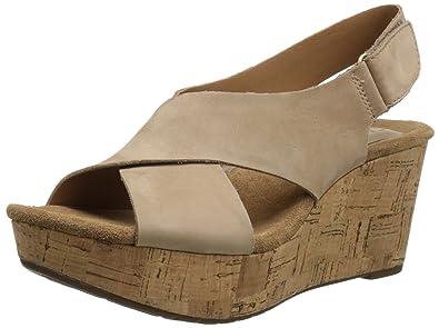 0d811a7ba375 Clarks Women s Caslynn Shae Wedge Sandal