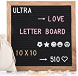 Felt Letter Board 10x10 Inches, with 510 PCS