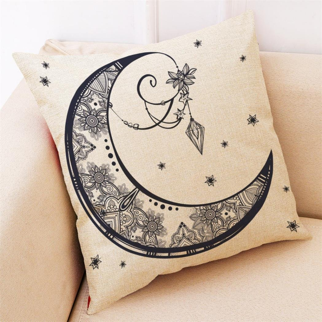 Amazon.com: titcool fundas de almohada, Sun Moon adivinación ...