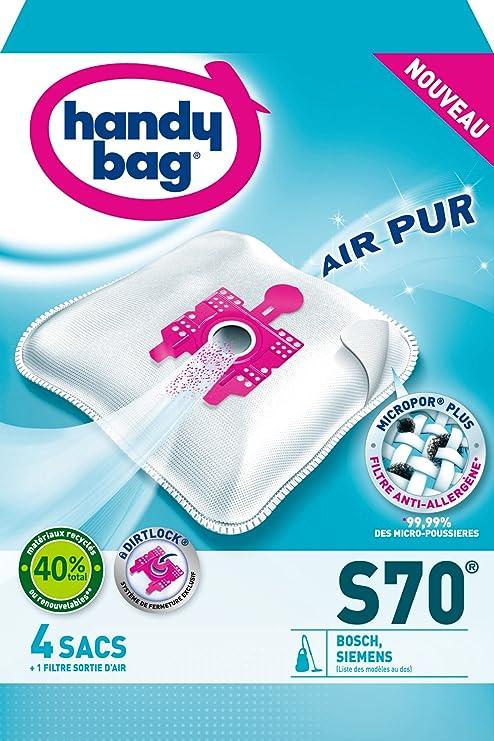 Handy Bag S70 - Bolsas para aspirador Bosch Arriva/Siemens ...