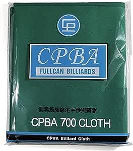 Green billiard table cloth