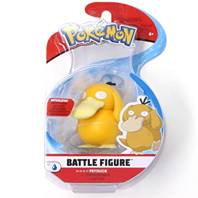 Pokémon Battle Figure Psyduck 2 Inch Series 3 Single Pack: Toys & Games