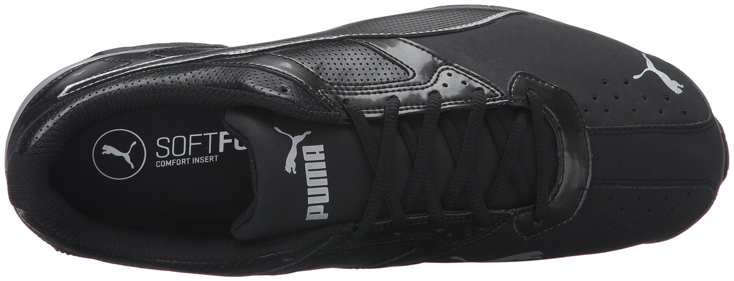 PUMA Men's Tazon 6 FM Puma Black/ Puma Silver Running Shoe - 8 D(M) US by PUMA (Image #8)