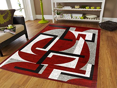 Canary Collection Modern Contemporary Design Area Rug