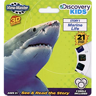 Discovery Kids ViewMaster 3D Marine Life - Full 3 Reel Set by 3Dstereo ViewMaster: Toys & Games