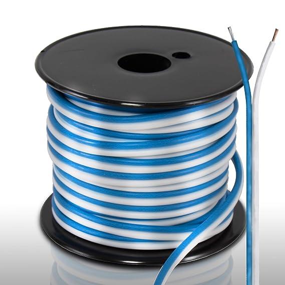 Sensational Amazon Com 50Ft 18 Gauge Speaker Wire Waterproof Marine Grade Wiring Cloud Nuvitbieswglorg