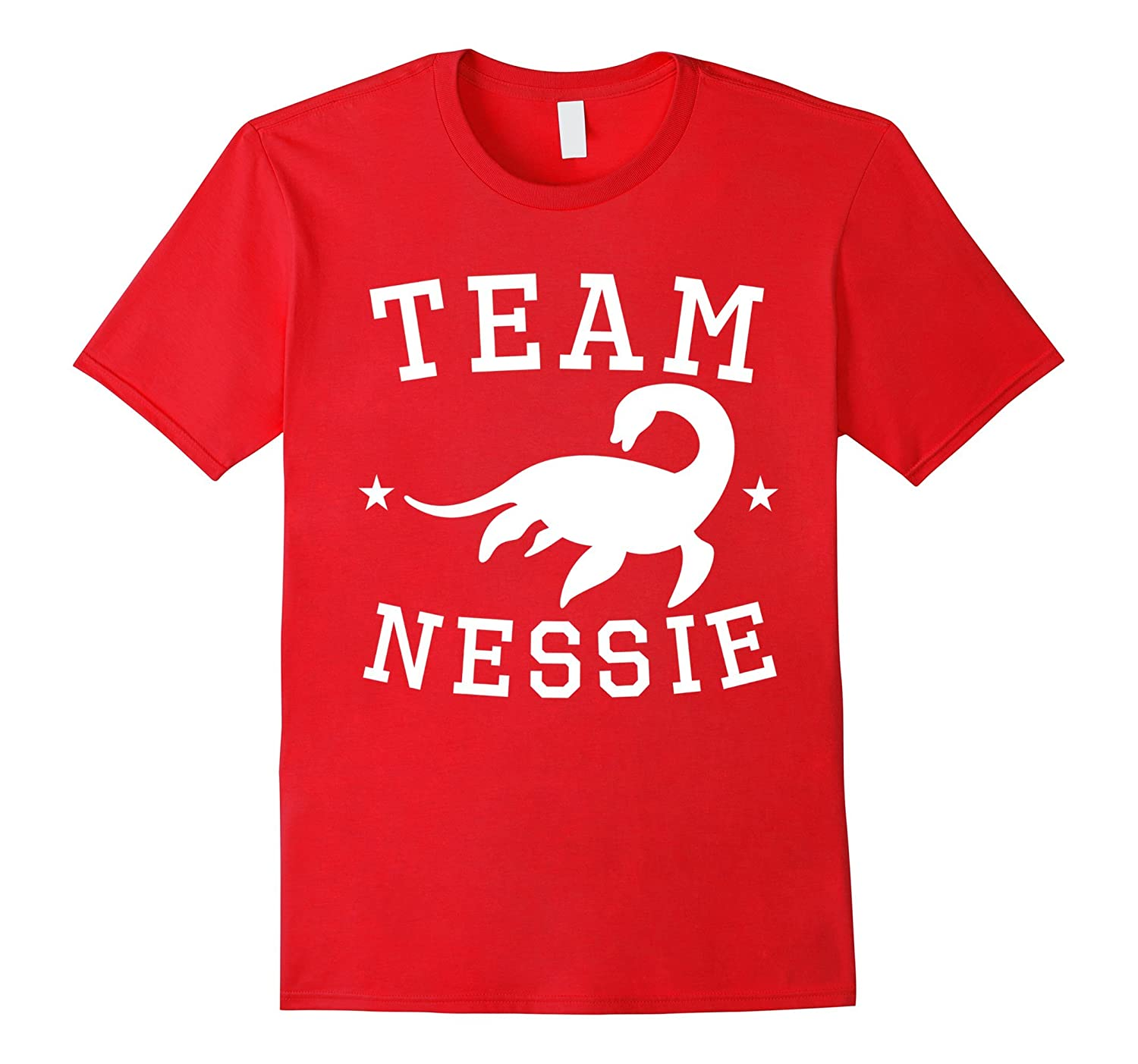 Team Nessie Loch Ness Monster T-Shirt-Teevkd