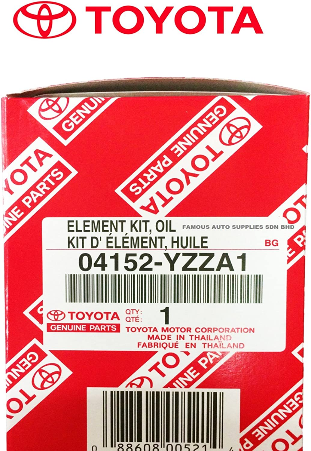 Perfect for Camry Sienna and More RAV4 Fits 64mm Cartridge Style Oil Filter Housings Genuine Oil Filter with Wrench ASPG ZTOOL Premium for 2.5L 3.5L to 5.7L Engines Highlander