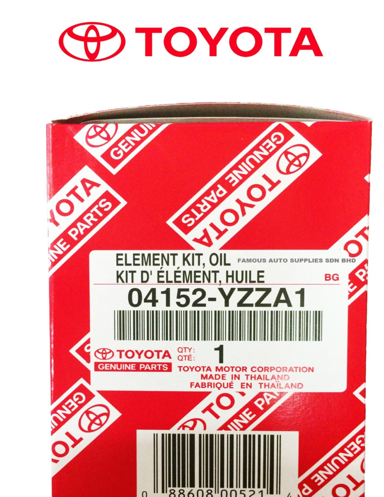 GENUINE TOYOTA OIL FILTER with WRENCH ASPG ZTOOL PREMIUM for 2.5L 3.5L to 5.7L Engines - Perfect for Camry, RAV4, Highlander, Sienna, Tundra and More - Fits 64mm Cartridge Style Oil Filter Housings by APSG (Image #2)