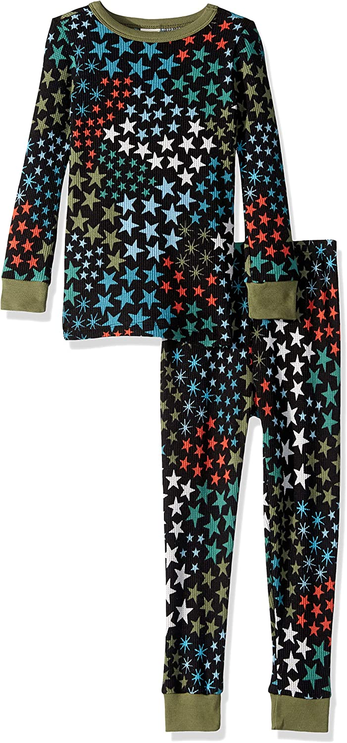 Gymboree Boys Big 2-Piece Tight Fit Thermal Sleeve Long Bottoms Pajama