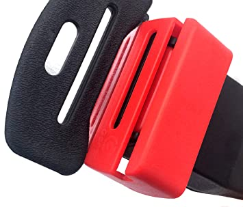Ganen Car Belt Lock Buckle Guard Prevent Children And Kids Opening The Seatbelt Securing