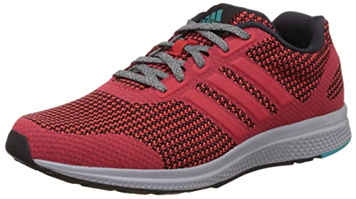 best loved bbf55 fcbe5 Adidas Men s Mana Bounce M Red and Green Mesh Running Shoes - 10 UK