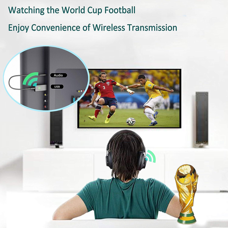 Amazon.com: DIGMALL USB Bluetooth Adapter for PC, Phone/TV Bluetooth Transmitter Audio Adapter, Bluetooth Home Stereo Adapter, Stereo Bluetooth Transmitter ...