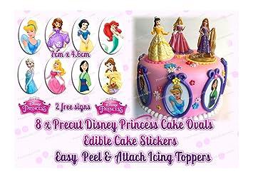 Party Supplies Cake Toppers Disney Princess Edible Cake Topper