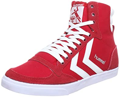 new arrival 41853 5847b Hummel Unisex - Adult SLIMMER STADIL HIGH Hi-Top Sneakers ...