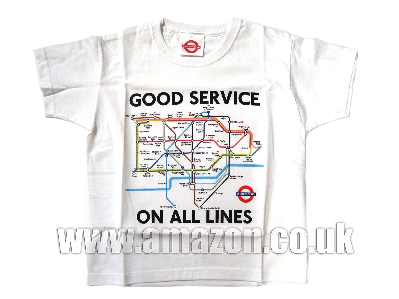 81UrMRjmkuL._UL1500_ kids underground tube map printed t shirt, white, transport for,Childrens Clothes Knightsbridge