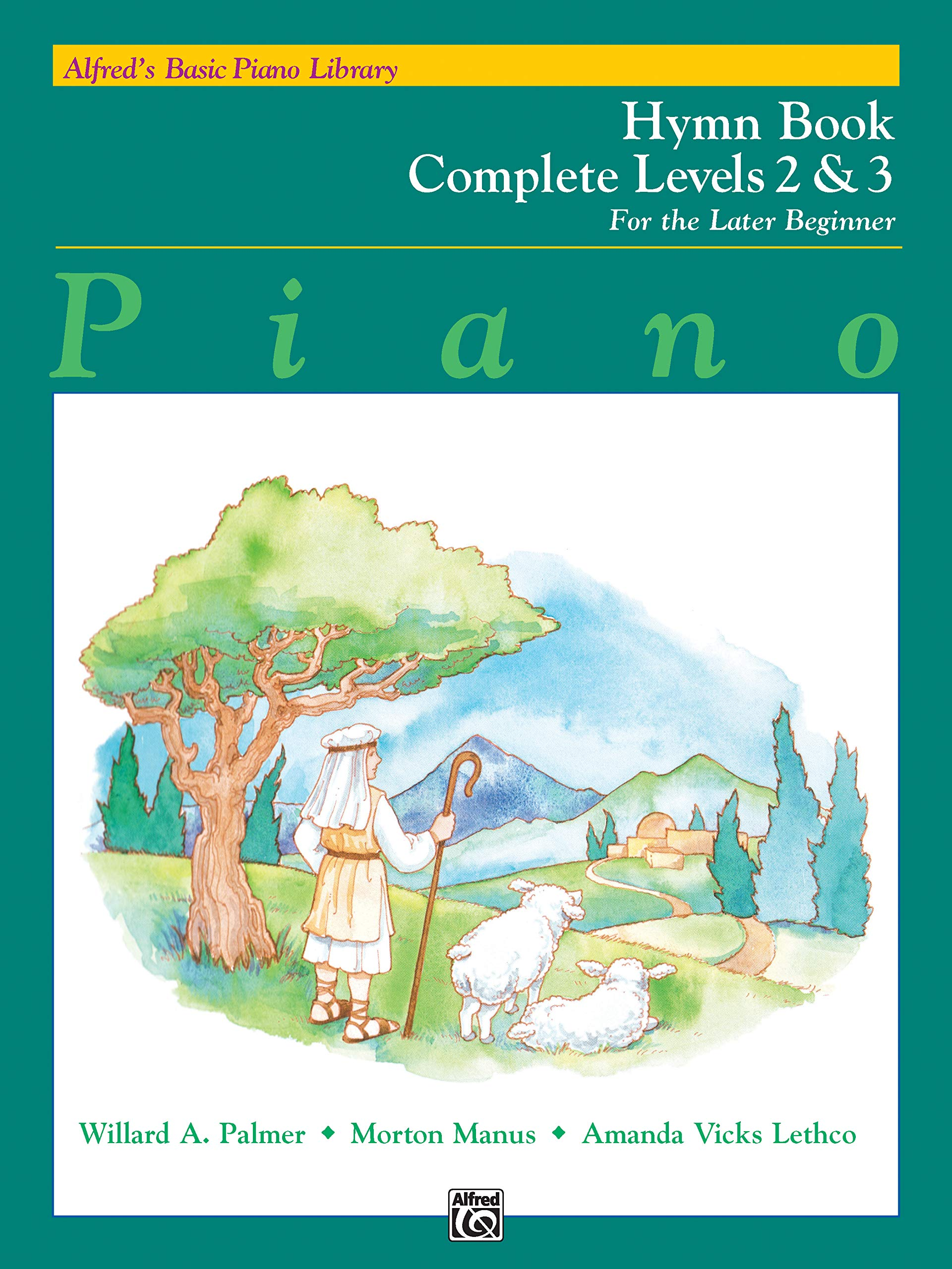 Alfred's Basic Piano Library Hymn Book Complete, Bk 2 & 3