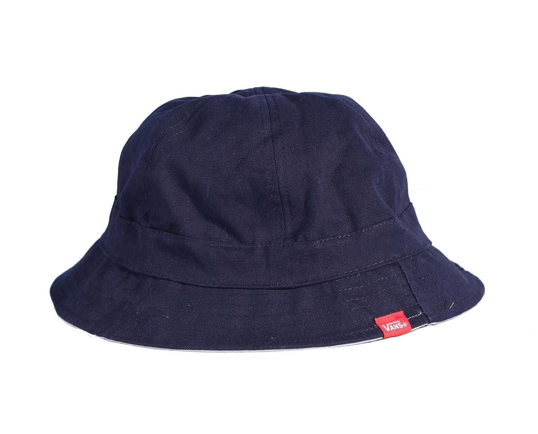Amazon.com  Vans Montera Reversible Bucket Hat Cap-Peacoat Federal Blue-S M   Clothing 390eee78fba1