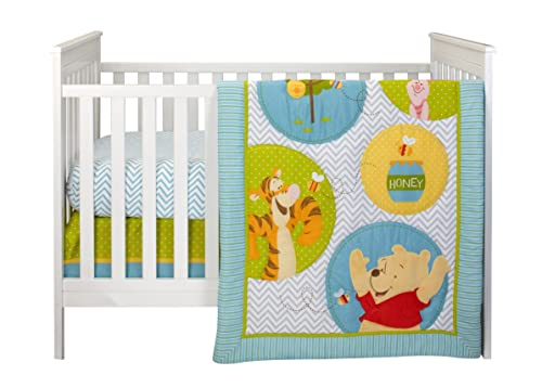Pooh's Play Day 4 Piece Bedding Set