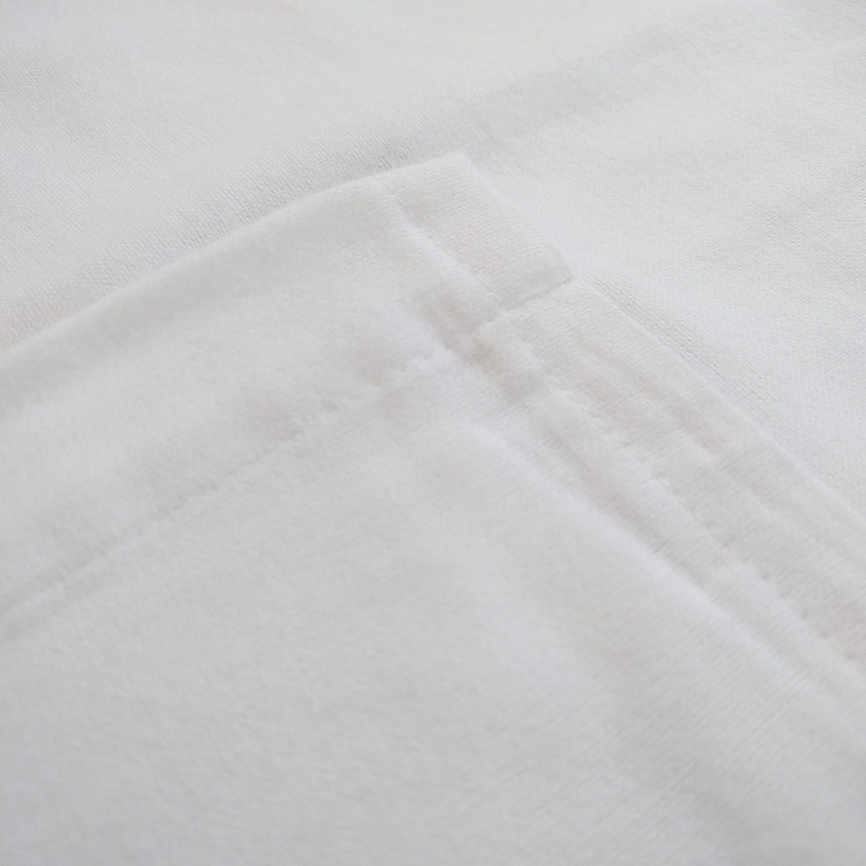 DK Pram// Crib Flannelette Sheet White