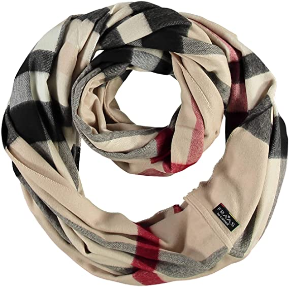 FRAAS Women s Snood Scarf, Beige (Camel 170), One Size  Amazon.co.uk ... 8f1ec314cbbc