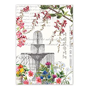 Michel Design Works Kitchen Towel, In the Garden