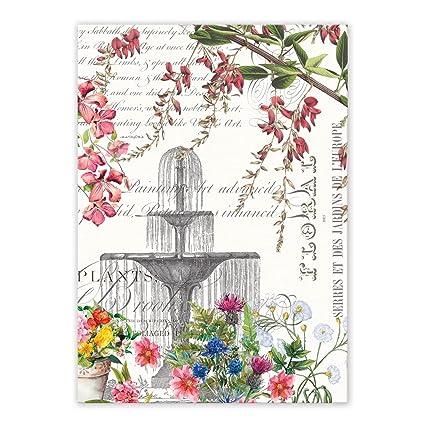 Michel Design Works Kitchen Towel, In The Garden