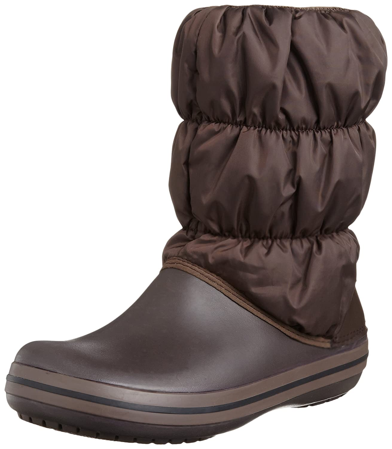 Crocs Women's Winter Puff Boot B007PY0Q4O 8 M US|Espresso/Espresso