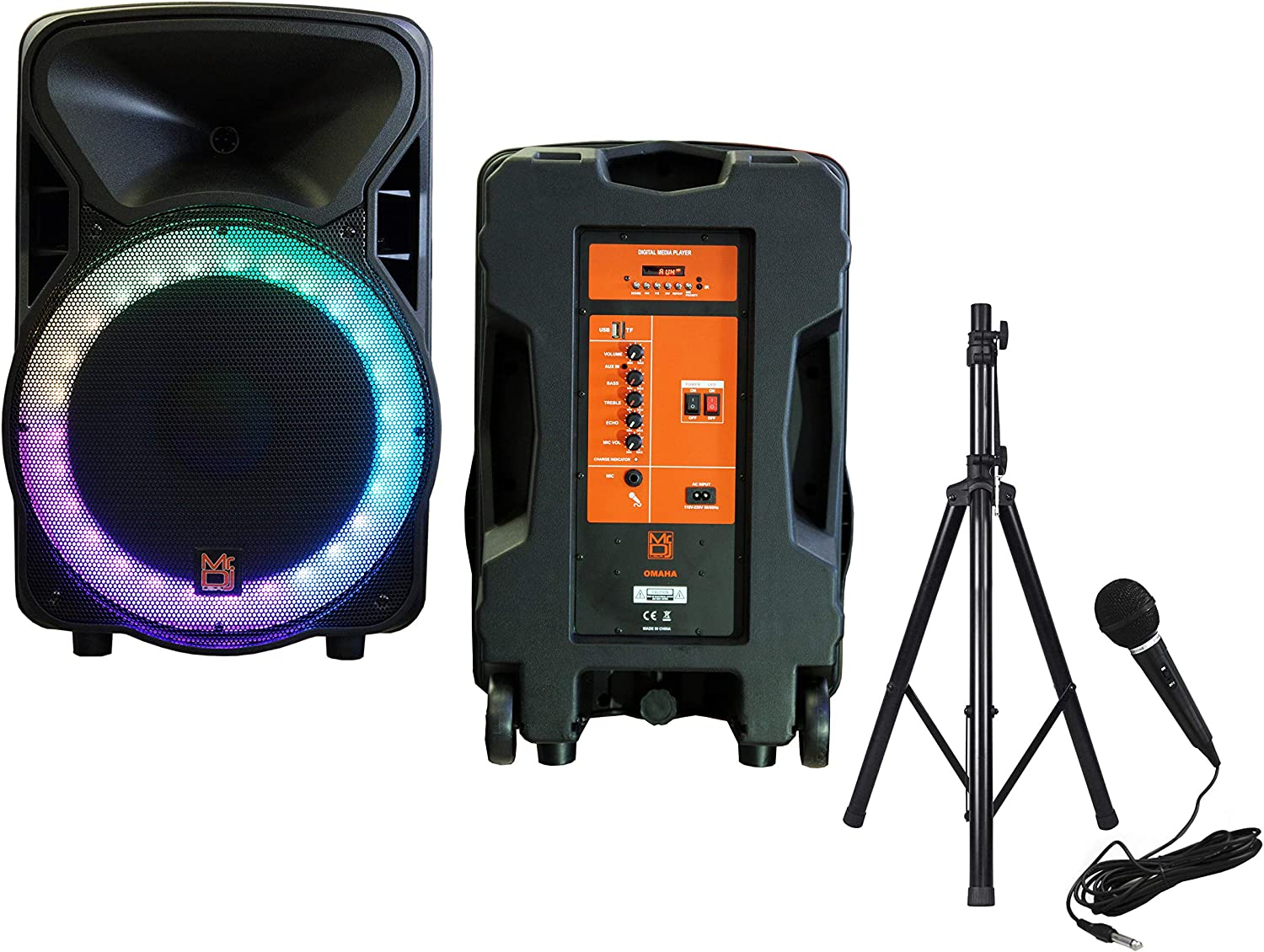 Musical Instruments PA Systems ghdonat.com Mr Dj Party Pack 15 ...