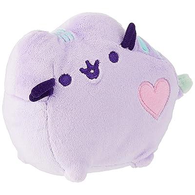"""GUND Pusheen Heart Pastel Cat Plush Stuffed Animal, Purple, 6"""": Toy: Toys & Games"""
