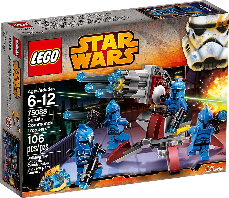 LEGO STAR WARS - Senate Commando Troopers, Multicolor (75088 ...