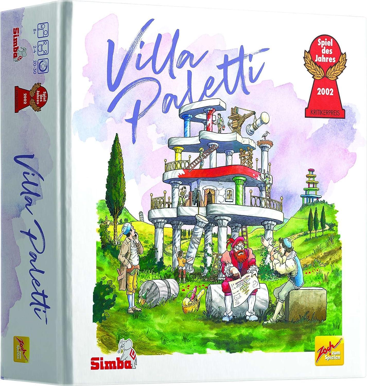 Simba - Villa Paletti, Color Mezclados, 601122900009: Amazon.es ...