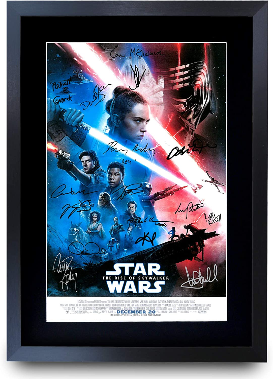 PacPrints buy one get one free Star wars the rise of skywalker v4 A4 movie poster 2019