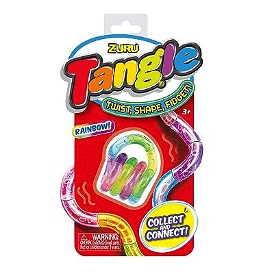 Tangle Metallic Fidget (styles Vary): Toys & Games