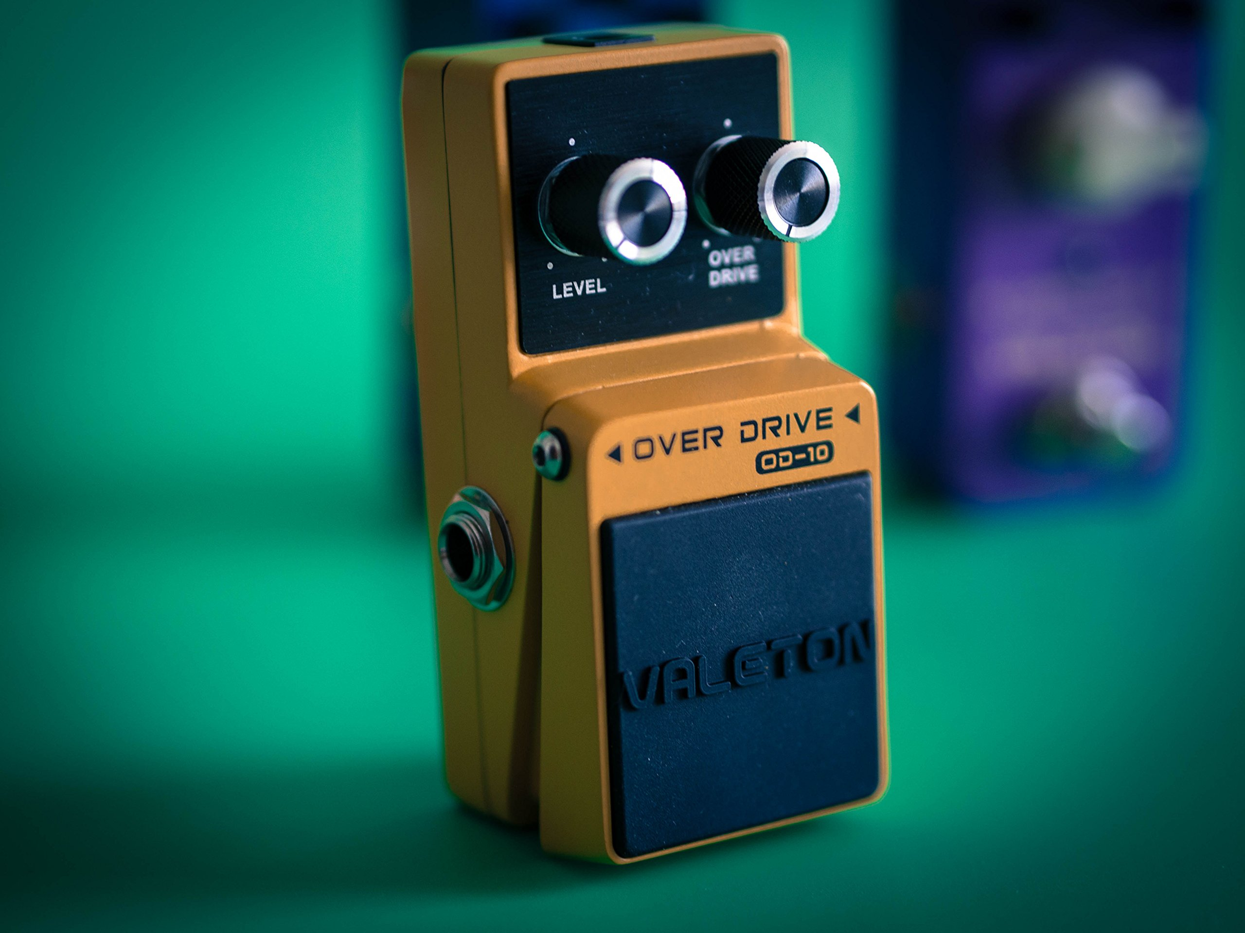 Valeton Overdrive Analog Signal Path Guitar Effect Pedal, Featuring True Bypass Wiring, Tone Switch and Quality Components