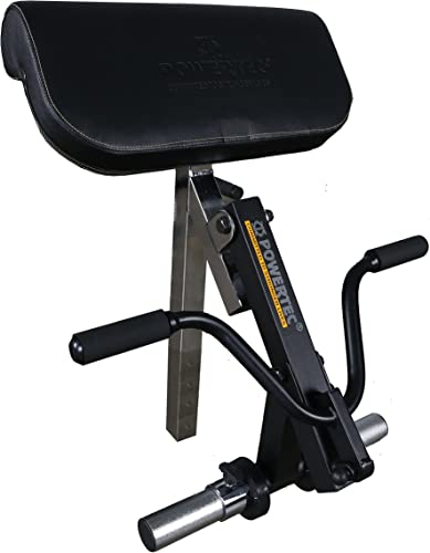 Powertec Fitness Workbench Curl Machine Accessory Black