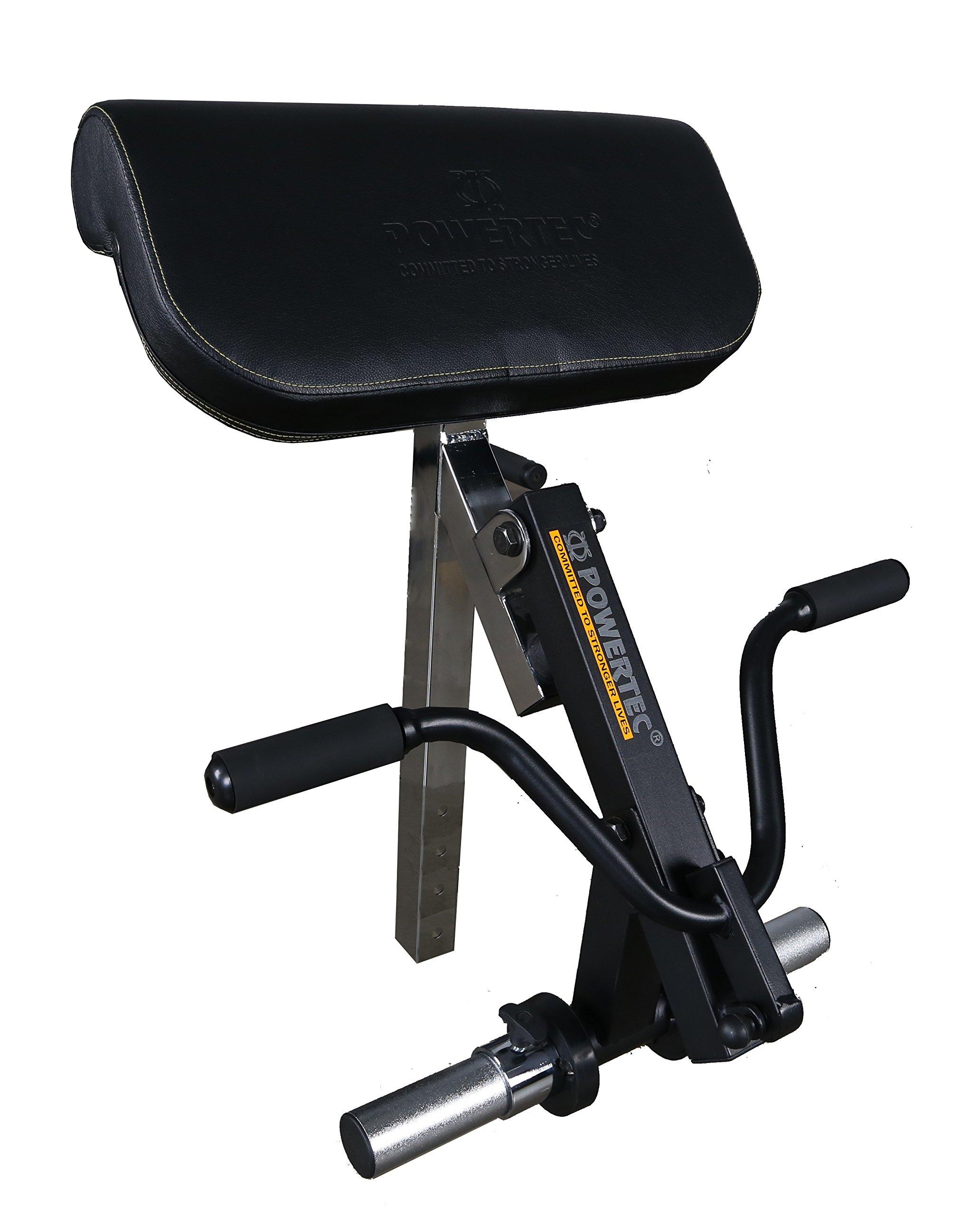 Powertec Fitness Workbench Curl Machine Accessory Black by Powertec Fitness